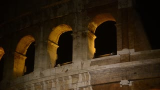 Coliseum. Night. Rome, Italy