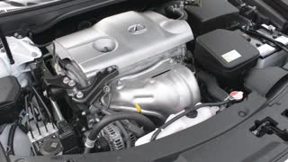 Lexus Car Engine - look under the hood