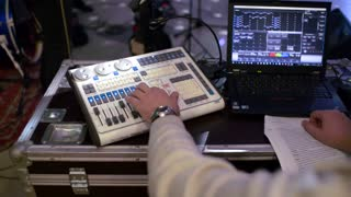 Music Editor for remote control works in concert
