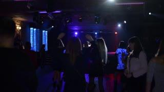 People Dancing in a Nightclub club