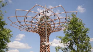 Tree of Life at the central square in the Milan Expo 2015