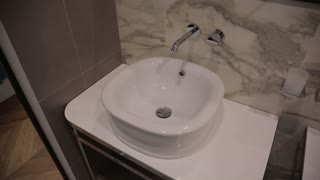 Bathroom with Wash Basins - modern Design of Apartments Interior