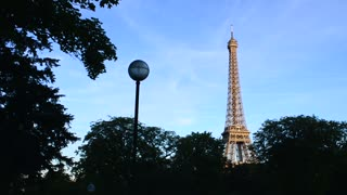 France, Paris: Eiffel Tower In The Evening