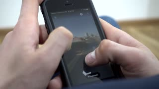 Google Maps Photo Sphere On Mobile Cell Phone - Street view of Sydney Australia
