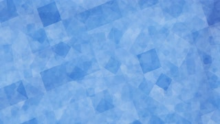 Abstract blue blocks animated background