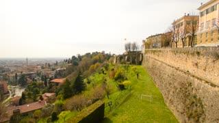 BERGAMO, ITALY: Architecture of Bergamo, Lombardia