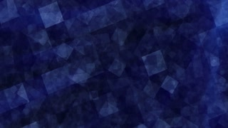 Blue abstract animated background