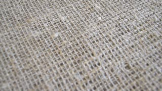 Burlap, rough fabric texture