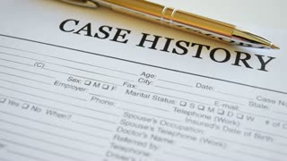 Case history form