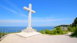 Catholic cross, christian cross.