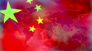 China symbol, Chinese flag
