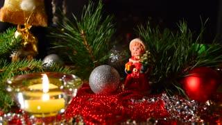 Christmas celebration background.