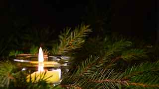 Night Christmas background