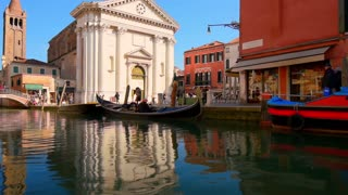 Cinemagraph water, Venice, Italy.