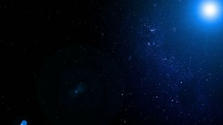 Cosmos, cosmic animated video background