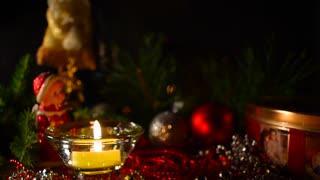 Decoration, Christmas celebration background.