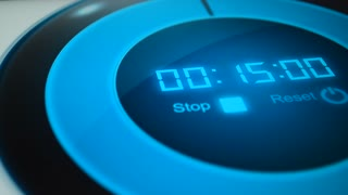 Digital timer. Digital stopwatch