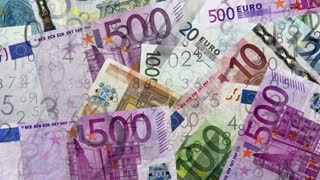 Euro, money background