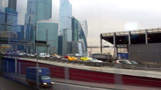 Financial district, Moscow city