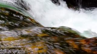 Flowing crystal water