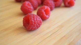Fresh raspberry.