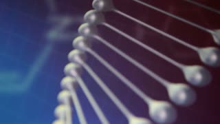 DNA helix. Science, medical background