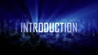 Introduction word, intro.