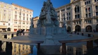 Italian baroque in Trieste, Italy.