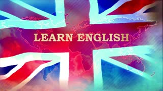 Learn English, British flag