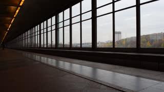 Metro, Moscow subway platform