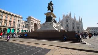 Milan. Piazza Duomo