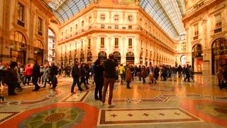 Milan, Italy, Shopping gallery.