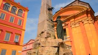 MODENA, ITALY: Sculpture at Saint Domenico square