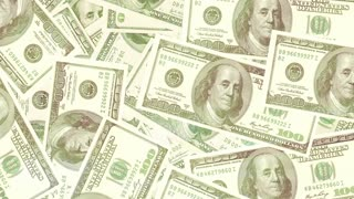 Money background, dollars