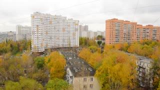 Moscow apartment blocks