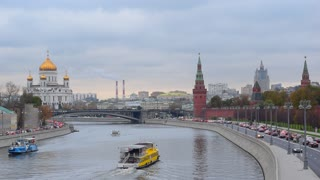 Moscow river, Moscow center