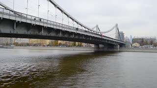 Moscow river, under bridge