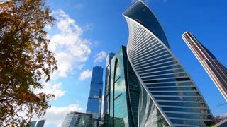 Moscow skyscrapers, financial district