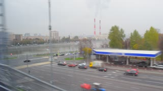 Moscow. View from train