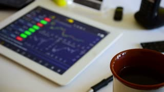 Online trading on the stock market
