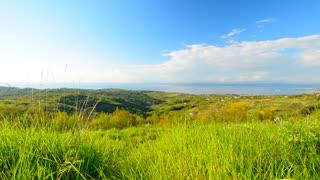 Panoramic nature landscape.