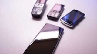 Phones evolution, mobile technologies progress