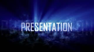 Presentation intro.