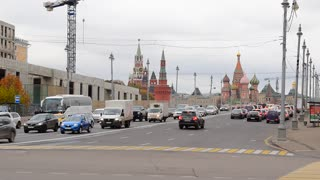 Russia, Moscow, traffic