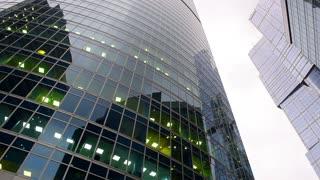 Skyscraper, financial office buildings