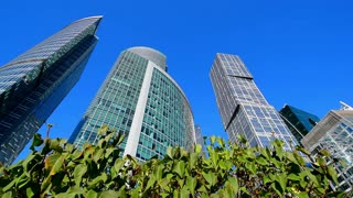 Skyscrapers, Moscow city