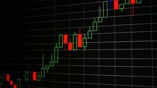 Stock market bull growth chart