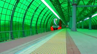 Train station, Moscow railway