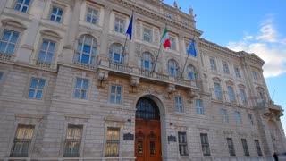 Trieste, Italy. Palazzo Lloyd
