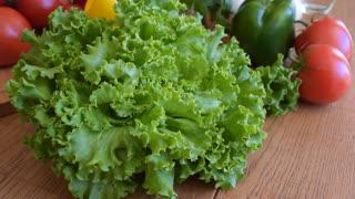 Vegetables, green salad
